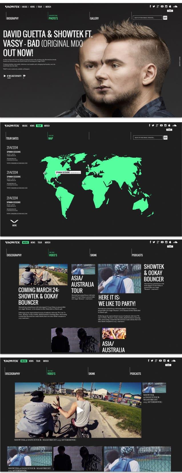 showtek webdesign preview