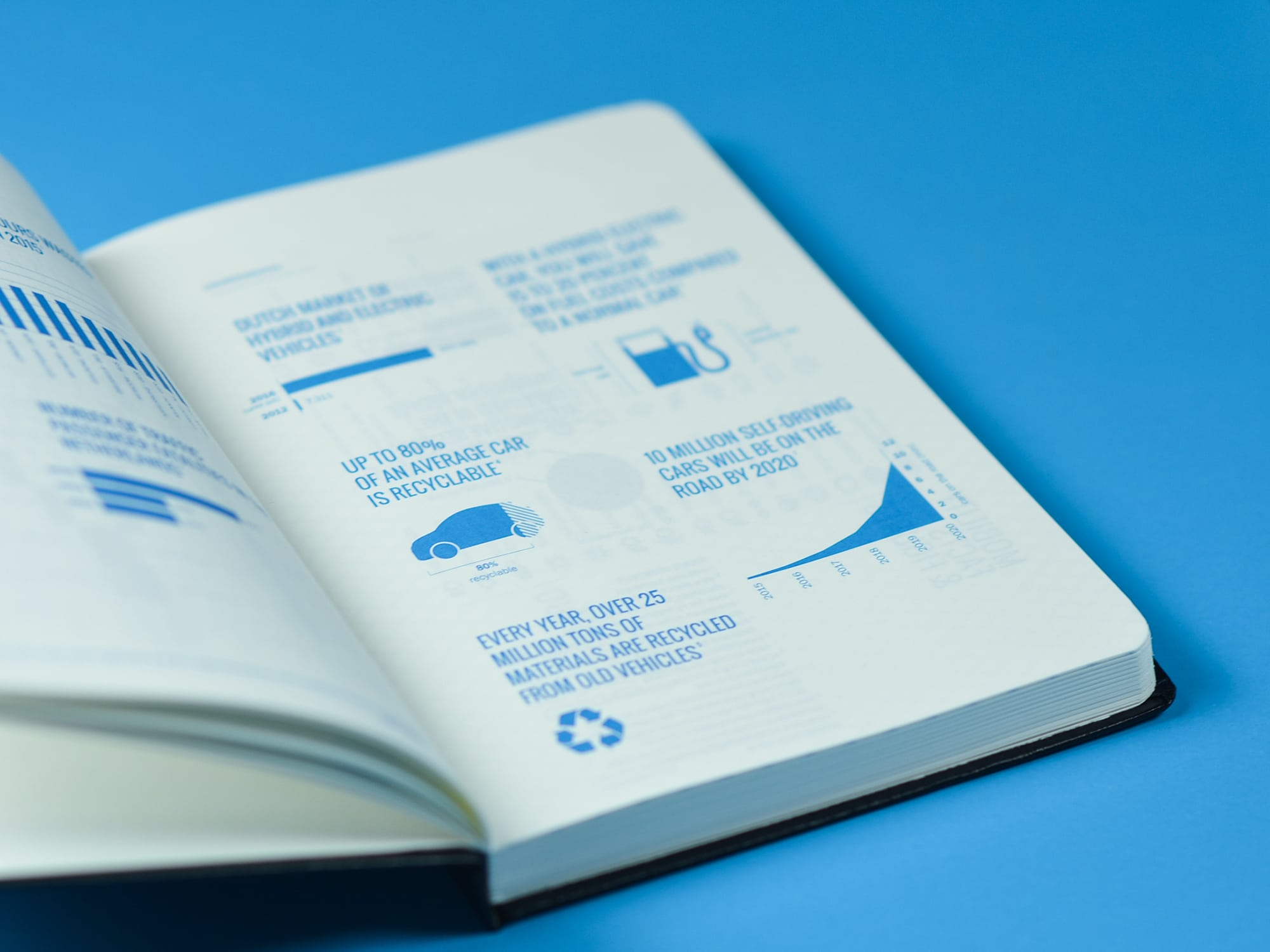 infographics notebook ontwerp