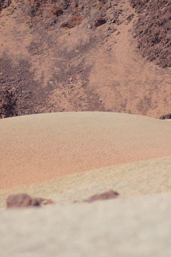 texture volcano tenerife